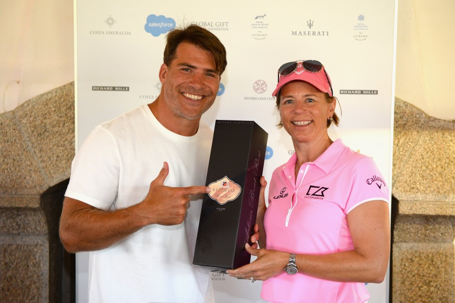 Annika Sorenstam crowns Schalk Brits the Costa Smeralda Invitational 2017 champion