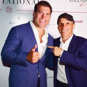 Rugby star Schalk Brits tops host of celebrities at Costa Smeralda Invitational 2017
