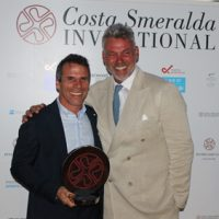 Gianfranco Zola proves his golfing touch at star-studded event